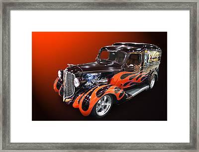 Ram Rod Express Framed Print by Bill Dutting