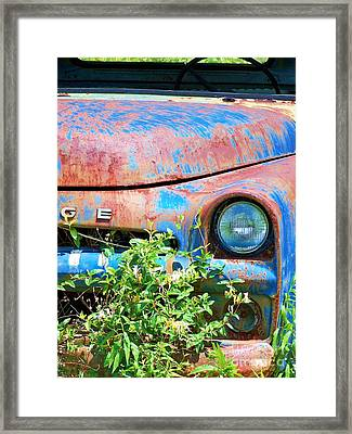 Ram Truck Framed Print by Chuck  Hicks