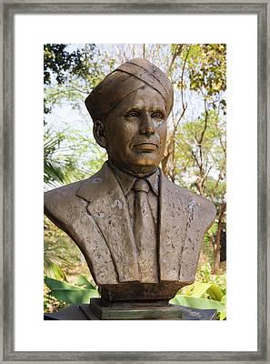 Raman Monument In Mumbai Framed Print