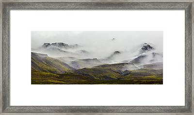 Ramble Thru The Mountains I Framed Print by Jon Glaser