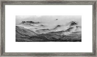 Ramble Thru The Mountains II Framed Print
