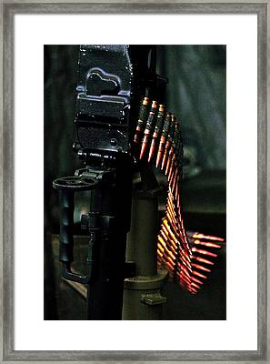 Rambo Framed Print by Benjamin Yeager