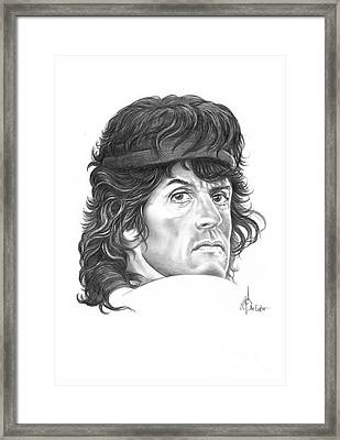 Rambo-sylvester-stallone Framed Print