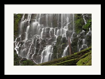 Ramona Falls Framed Prints