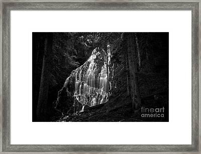 Ramona Falls Framed Print by Michael White