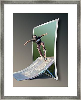Ramp It Up - Oof Framed Print