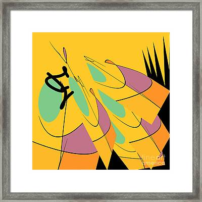 Ramparts Framed Print by Carol Jacobs
