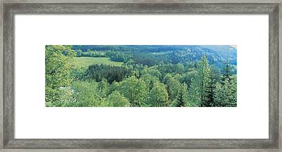 Ramsau Bavaria Germany Framed Print by Panoramic Images