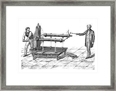 Ramsden Electrostatic Generator Framed Print