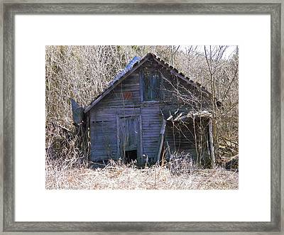Framed Print featuring the photograph Ramshackled by Nick Kirby