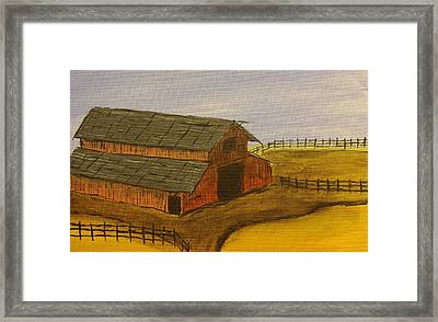 Ranch Framed Print by Keith Nichols