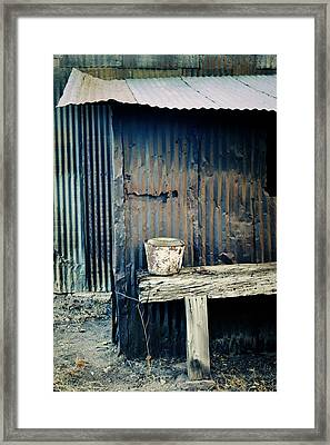 Ranch Out Building Framed Print