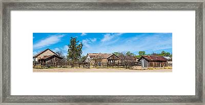 Ranch Panorama Framed Print by Beverly Parks