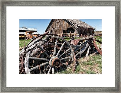 Ranch Wagon Framed Print