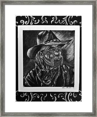Rancher Framed Print by Sheena Pape