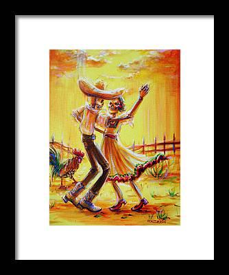 Ranchera Framed Prints