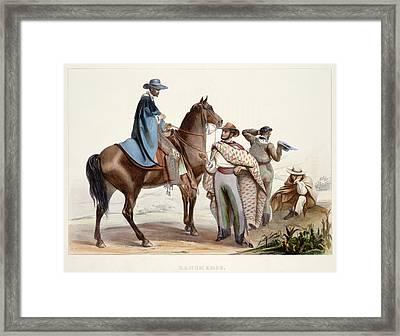 Rancheros Framed Print