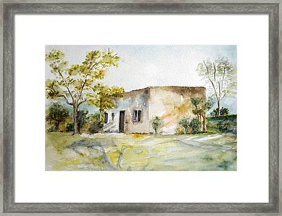 Ranchito Framed Print