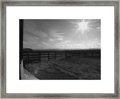 Rancho Colorado Framed Print