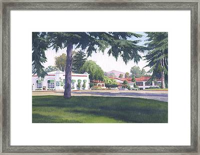 Rancho Santa Fe Center Framed Print