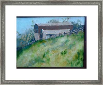Rancho Sante Fe Stable Of Sahm  Framed Print by Bryan Alexander