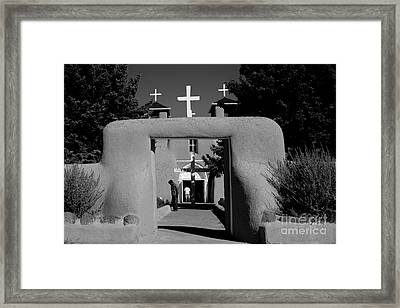 Ranchos De Taos  2 Framed Print by Jim McCain