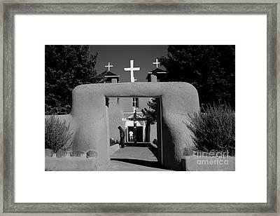 Ranchos De Taos  2 Framed Print
