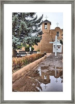 Ranchos Reflections Framed Print