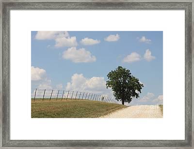 Randolph County Framed Print