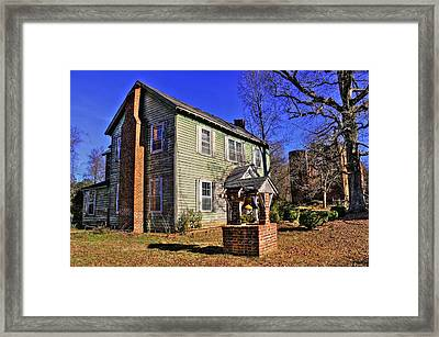 Randolph Macon Framed Print by Brian Cole