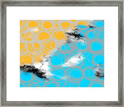 Random Thoughts Framed Print by Ann Powell