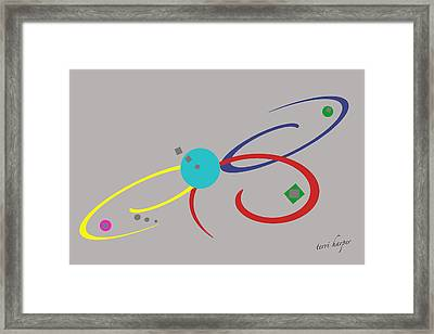 Framed Print featuring the photograph Randomness Variations 3 by Terri Harper