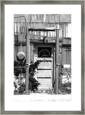 Randsburg Antique Shop Framed Print