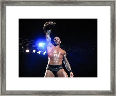 Randy Orton Wwe 1 Framed Print