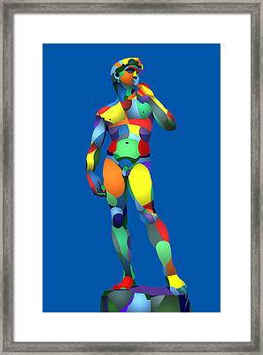 Randy's David Blue Framed Print