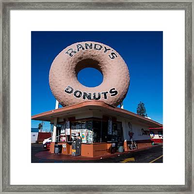 Randy's Donuts Framed Print