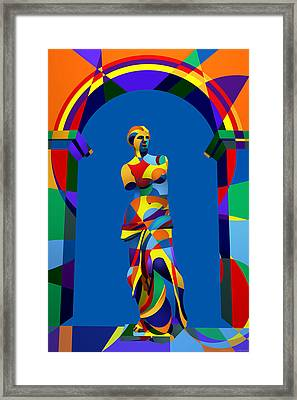 Randy's Venus Blue Framed Print