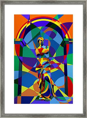 Randy's Venus Framed Print