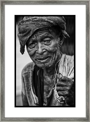 Rangoon Wayfarer Framed Print