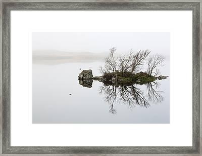 Rannoch Moor Mist Framed Print by Grant Glendinning