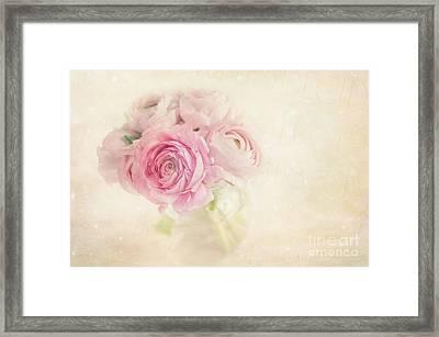Ranunculus Framed Print by Marion Galt