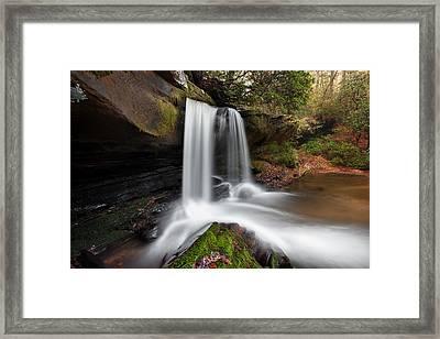 Raper Creek Falls Framed Print by Scott Moore