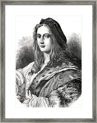 Raphael Framed Print by Collection Abecasis