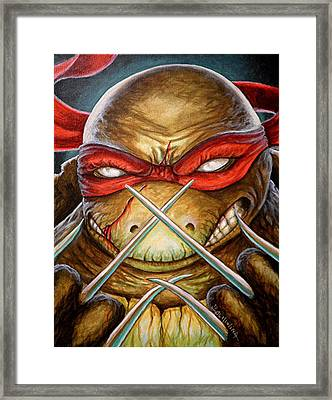 Raphael Unleashed  Framed Print by Al  Molina