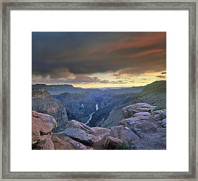 Rapids Grand Canyon Framed Print by Tim Fitzharris
