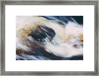 Rapids In Wilderness Framed Print by Ari Salmela