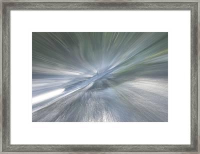 Rapids To Heaven 1 Framed Print