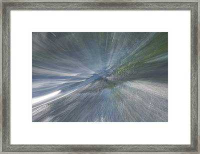 Rapids To Heaven 2 Framed Print