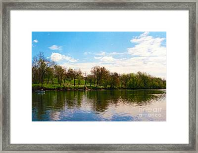 Rappahannock River I Framed Print by Anita Lewis