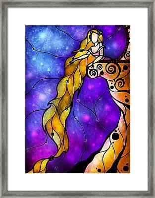 Rapunzel Framed Print by Mandie Manzano